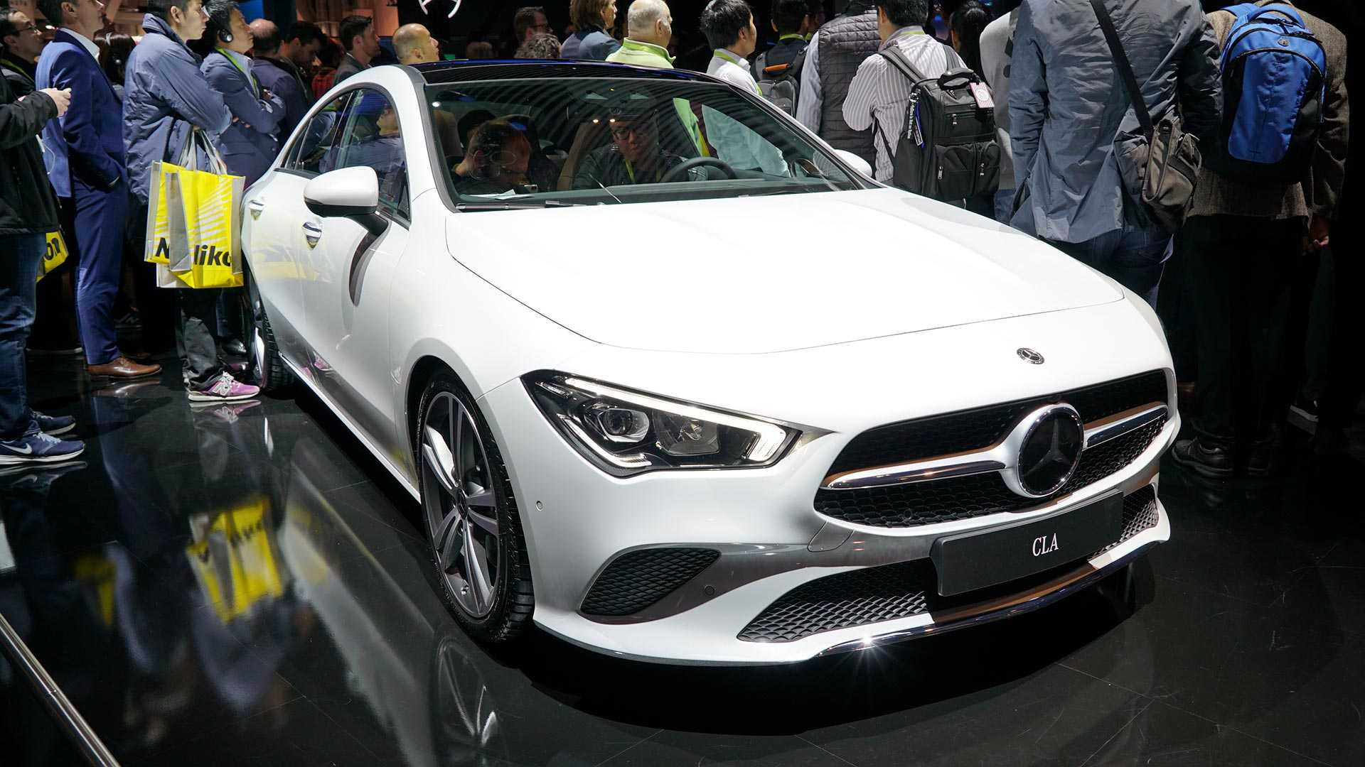 2020 mercedes cla at ces live photos